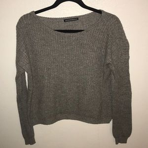 Brandy Melville grey sweater.